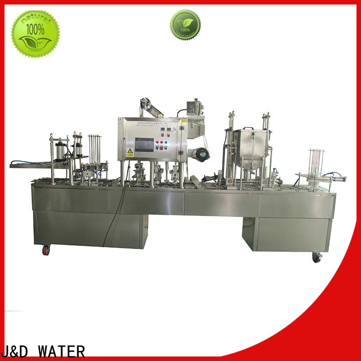 J&D WATER larger capacity cup filling machine factory for container