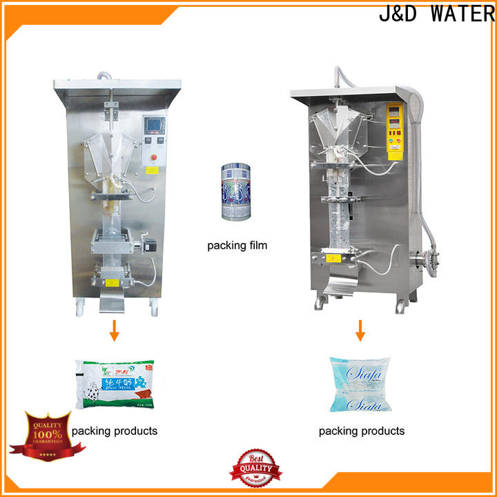 J&D WATER automatic bag filling machine high accuracy for container
