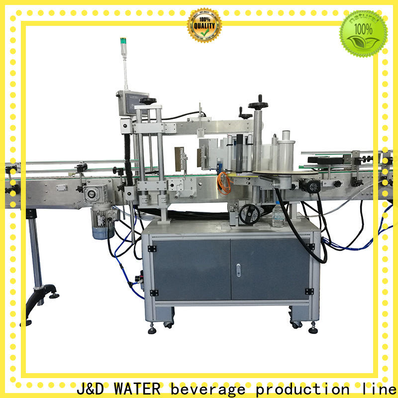 waterproof self adhesive labeling machine reduce cost for plastic bottle