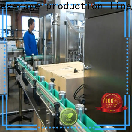 energy saving canning equipment high accuracy for beverage