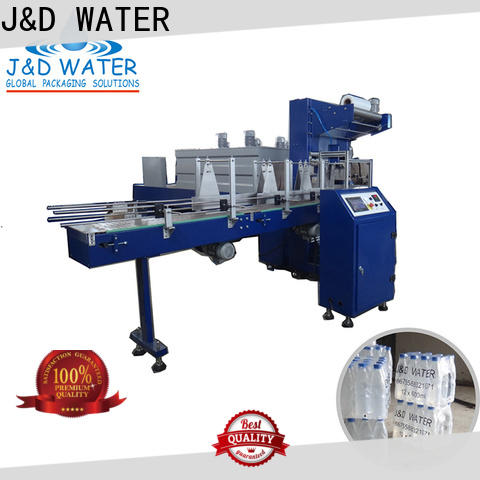 J&D WATER wrapping plastic wrapping machine easy to operate for medicine