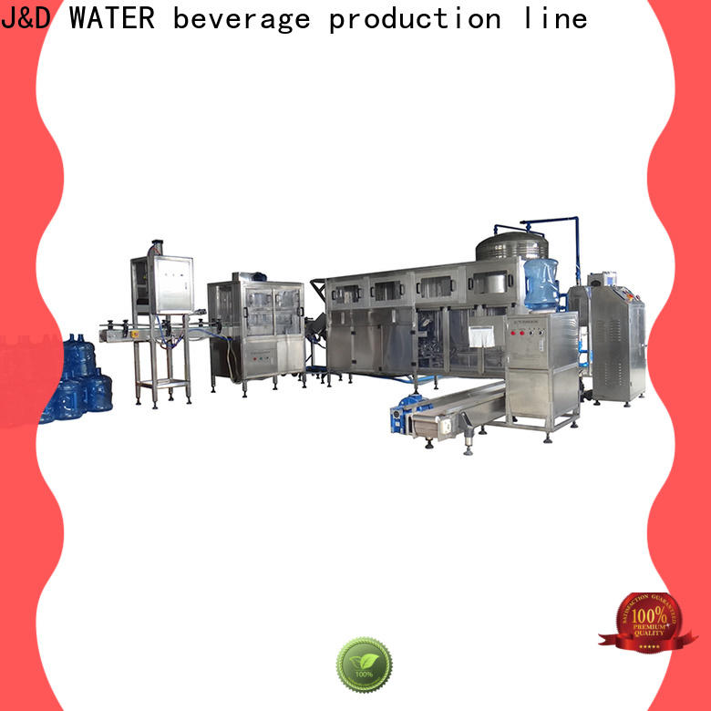 automatic filling equipment for mineral water
