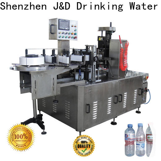 J&D WATER opp labeling machine reduce cost for label papers