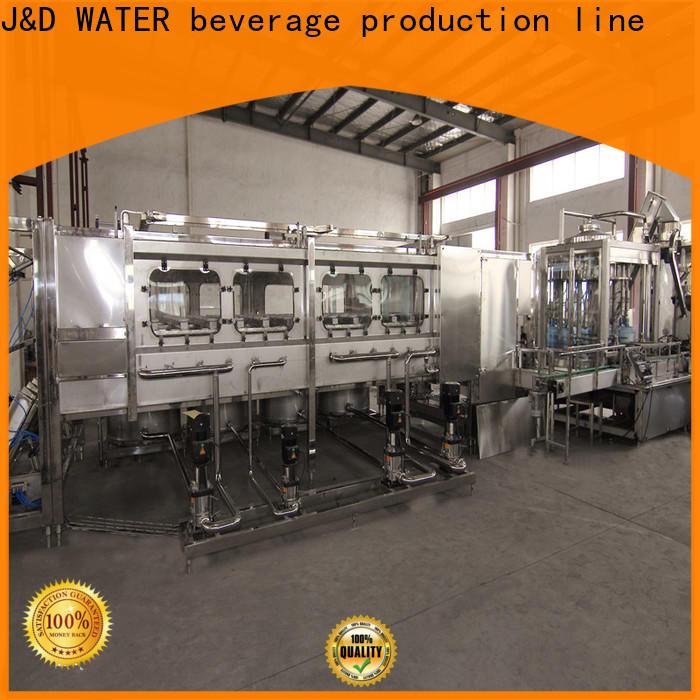 J&D WATER bottle packing machine convenient for tea