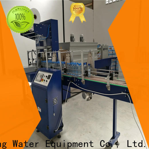 J&D WATER bottle pack machine stable performance for chemistry