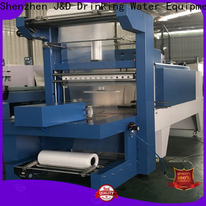 J&D WATER shrink packing machine reduce cost for beer