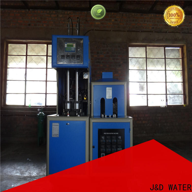 J&D WATER blow molding machinery safely for oil bottles