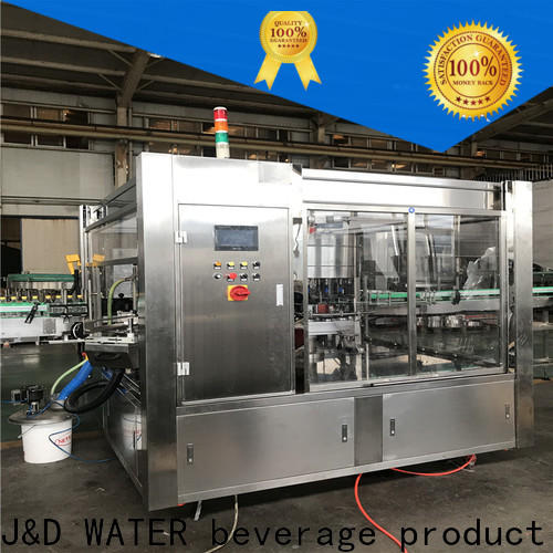 J&D WATER High Speed semi automatic labeling machine intellectual control for metal container