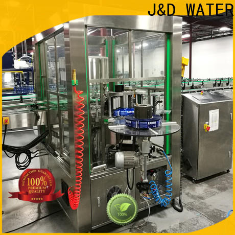 Automatic square bottle labeling machine adjustable for glass bottle