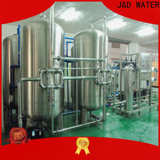 J&D WATER water plant machine With Stainless Steel for pharmaceutical for industry chemical processing