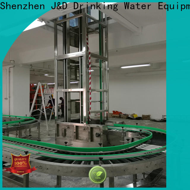 J&D WATER conveyor manufacturers high efficiency for daily chemical