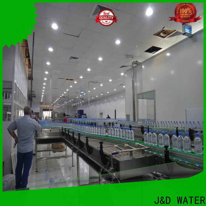 J&D WATER Customized chain conveyor stainless steel for daily chemical