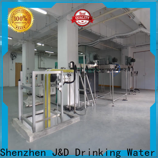 J&D WATER bottle conveyor stainless steel for daily chemical