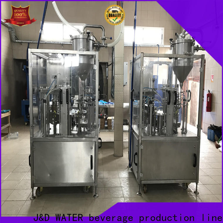 larger capacity cup filling machine high automation for hot infusion