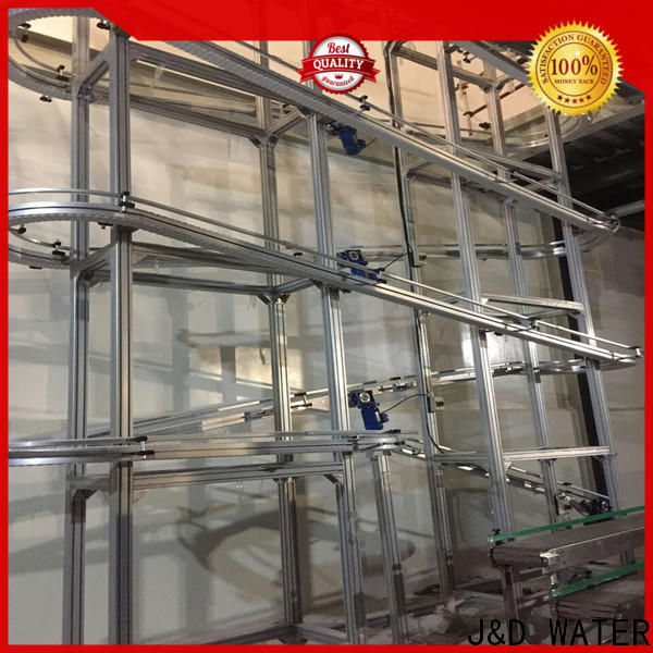 easy operation slat conveyor stainless steel for drinking water
