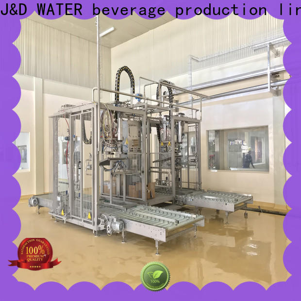 J&D WATER bag filling machine engineering for container