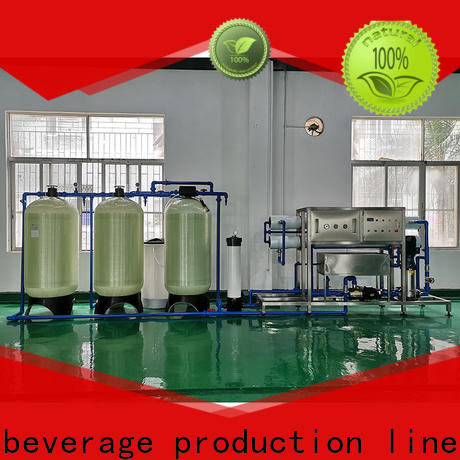 J&D WATER Auto-check reverse osmosis water treatment machine auto wash for pure water