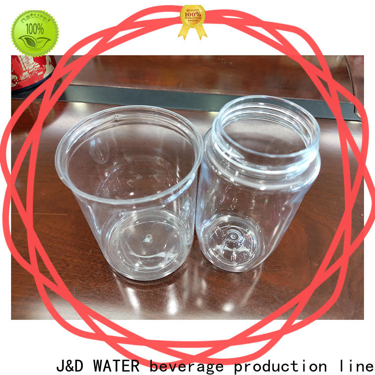 J&D WATER plastic can fast delivery for packing