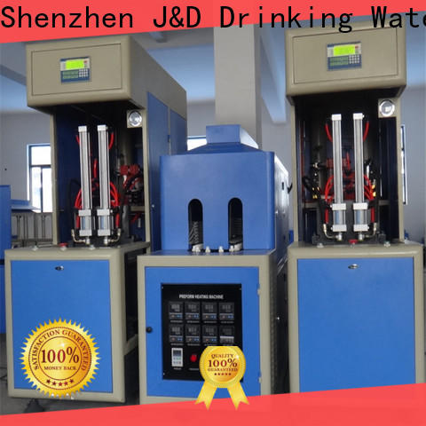 J&D WATER automatic blow moulding machine safely for mineral water bottles