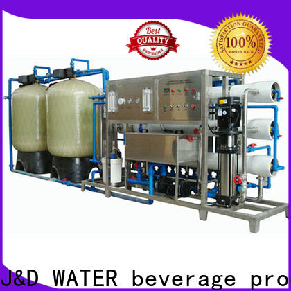 J&D WATER easy operation osmosis machine with Glass Tank for drinking water for treatment