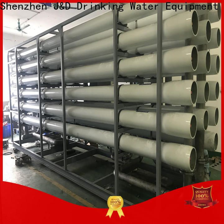 Economic desalination filter high purity for troop stations