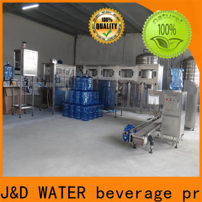 J&D WATER bottle packing machine high automation for juice
