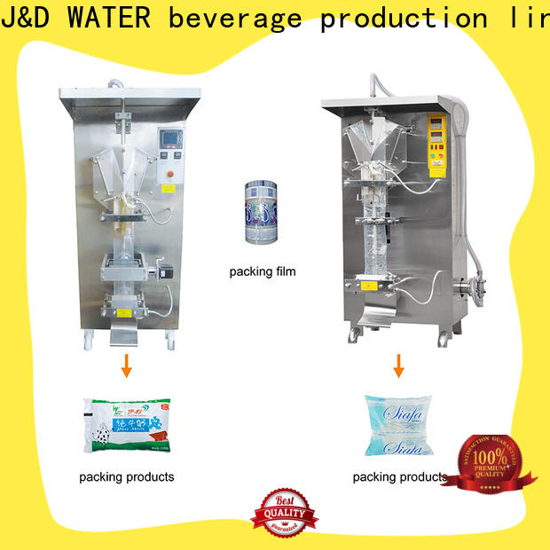 J&D WATER bag filling machine high automation for cosmetic