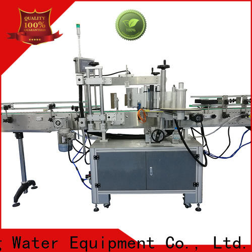 waterproof self adhesive labeling machine reduce cost for glass bottle
