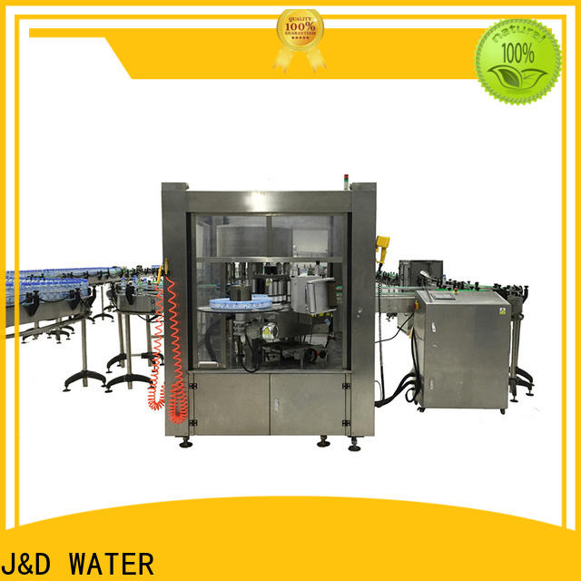 Automatic square bottle labeling machine convenient for glass bottle