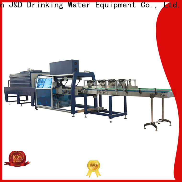 J&D WATER plastic wrapping machine high quality for chemistry