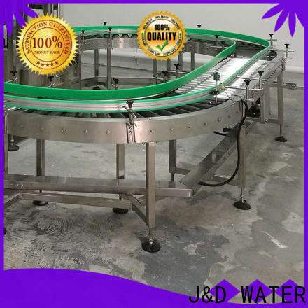 J&D WATER high quality heavy duty conveyor rollers stability for beverage