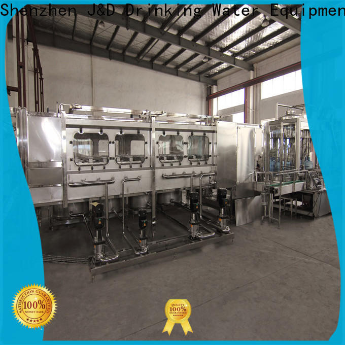 J&D WATER 3 in 1 filling machine high automation for milk