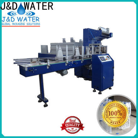 J&D WATER plastic wrapping machine reduce cost for food