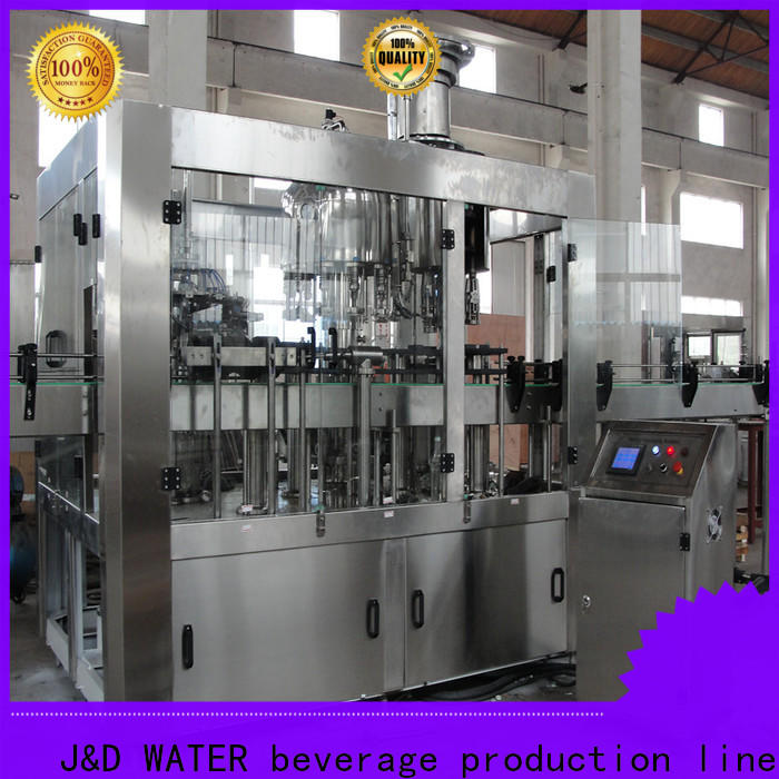 J&D WATER plastic bottle sealing machine convenient for pure water