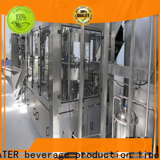 J&D WATER intelligent mineral water filling machine complete function for soy