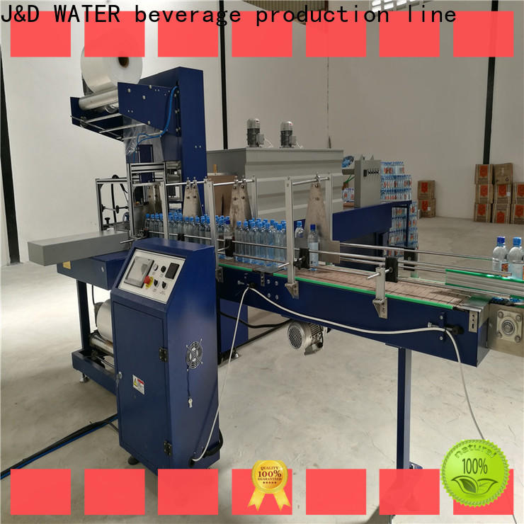 J&D WATER shrink machine reduce cost for chemistry