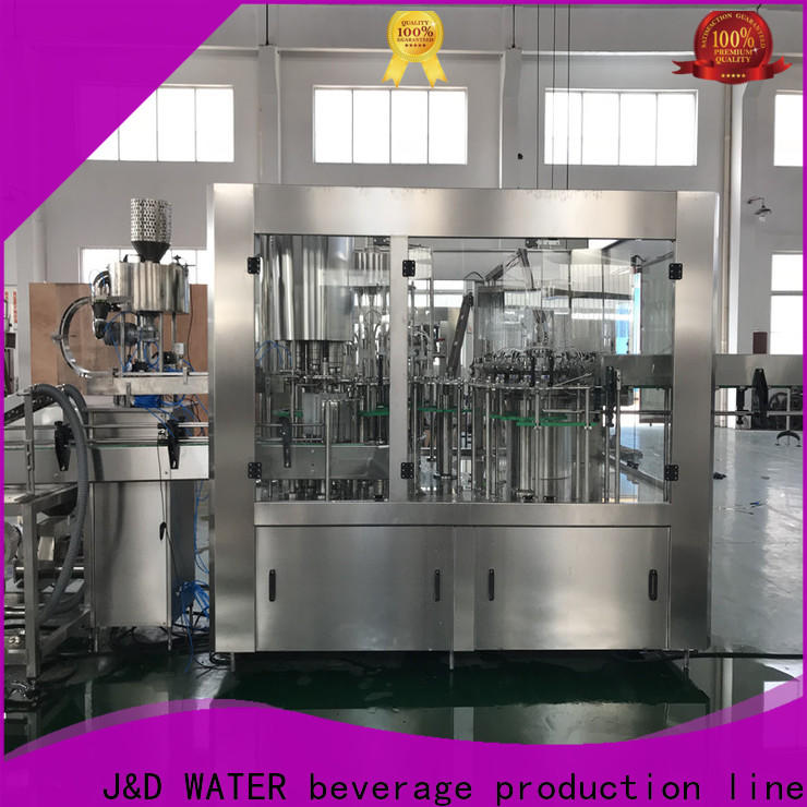 J&D WATER intelligent liquid packing machine stainless steel for tea