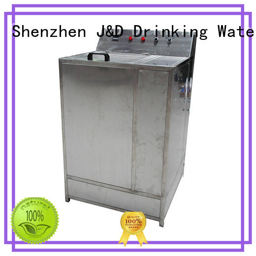 J&D WATER bottle packing machine high accuracy for Glass bottles