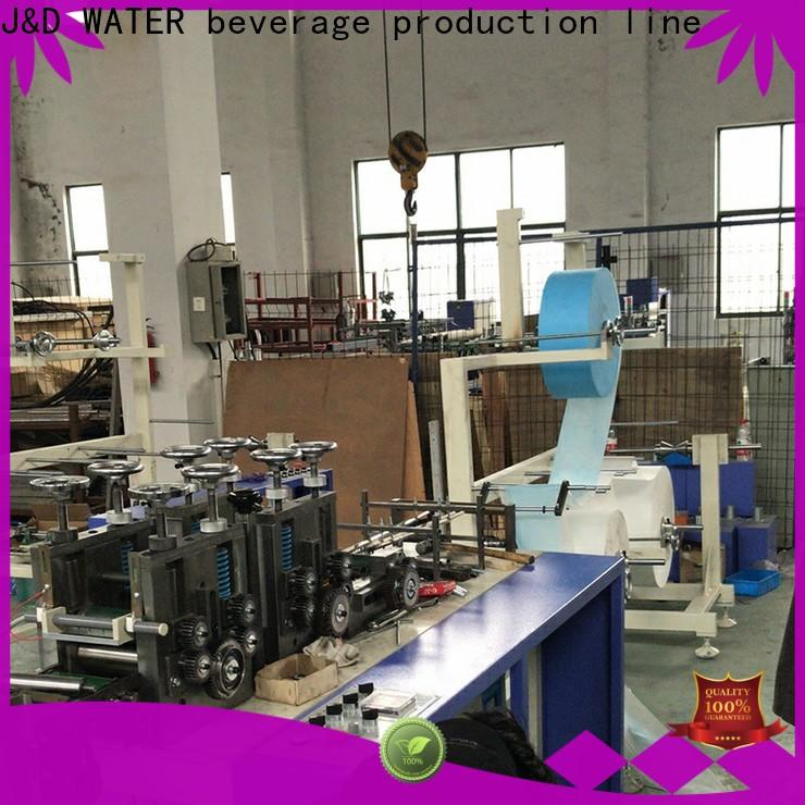 J&D WATER high-efficiency mask making machine high automation wholesale price