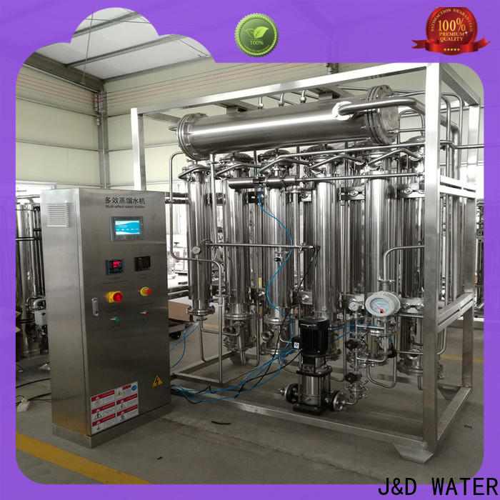 J&D WATER distilled water machine safely for pharmaceutical