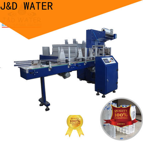 J&D WATER bottle pack machine easy to operate for beer