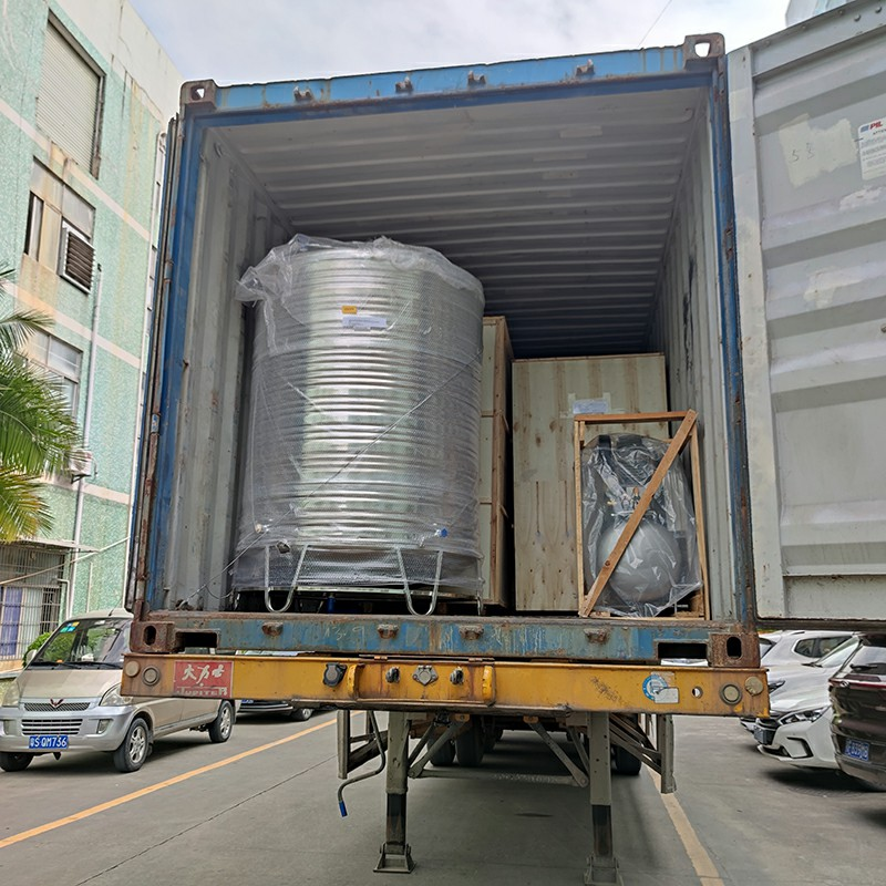 news-The automatic PE film shrink packing machine and reverse osmosis water treatment equipment are
