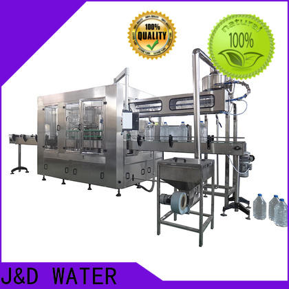 J&D WATER bottle filling equipment good quality for pure water