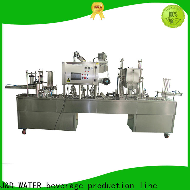 J&D WATER advanced technology cup filling machine high automation for container