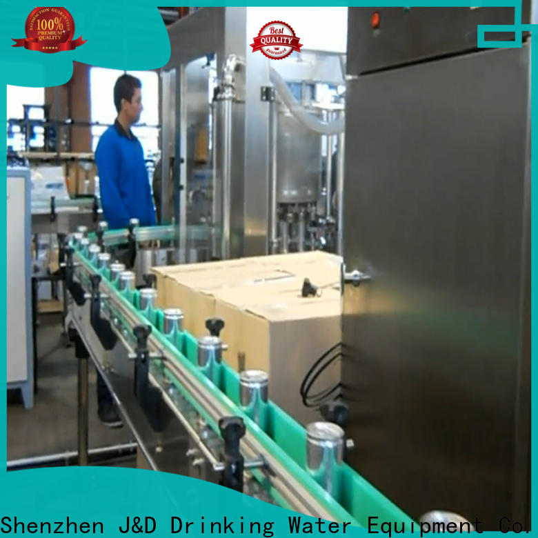 intelligent canning equipment stainless steel for mineral water