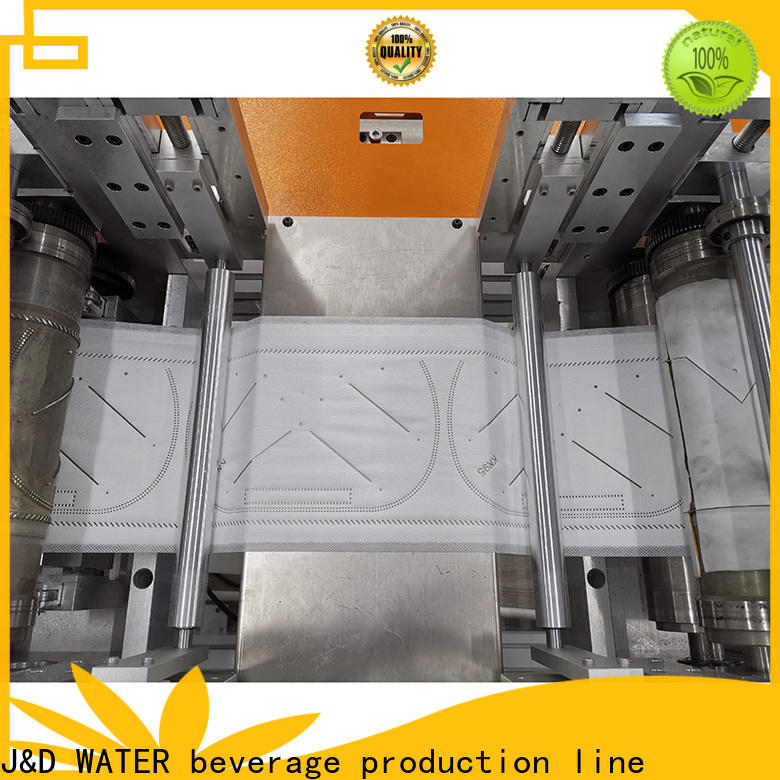 J&D WATER durable face mask maker easy operation best factory price