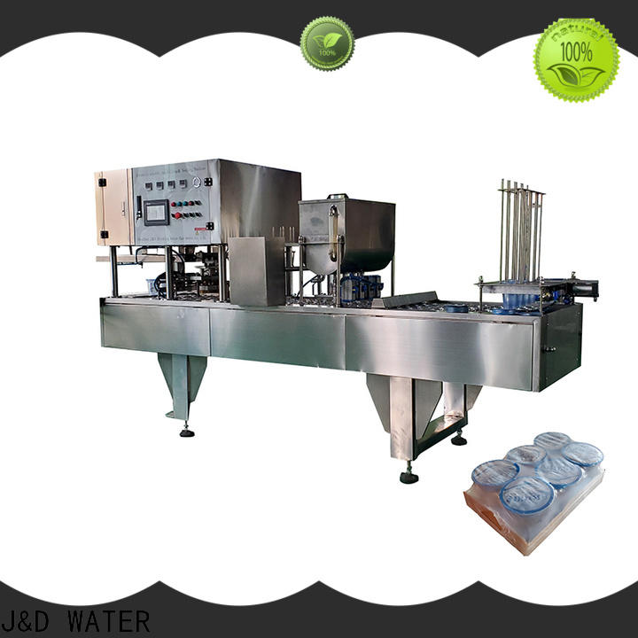 J&D WATER cup filling machine stainless steel for mineral water