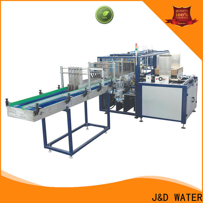 J&D WATER convenient cartoning equipment easy to operate for medicine