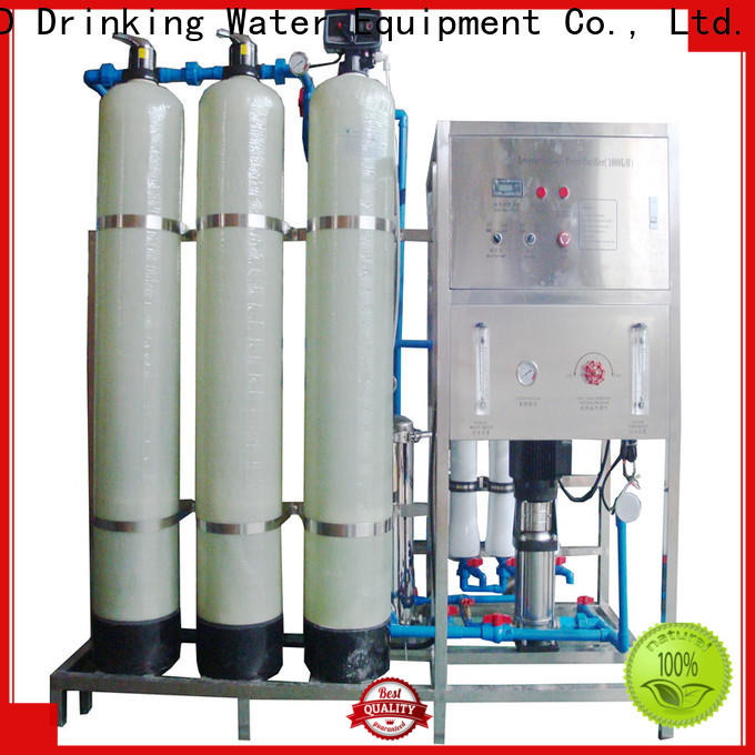 easy operation reverse osmosis machine auto wash for water treatment
