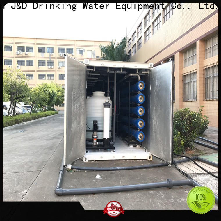 J&D WATER middle desalination filter high purity for sea islands
